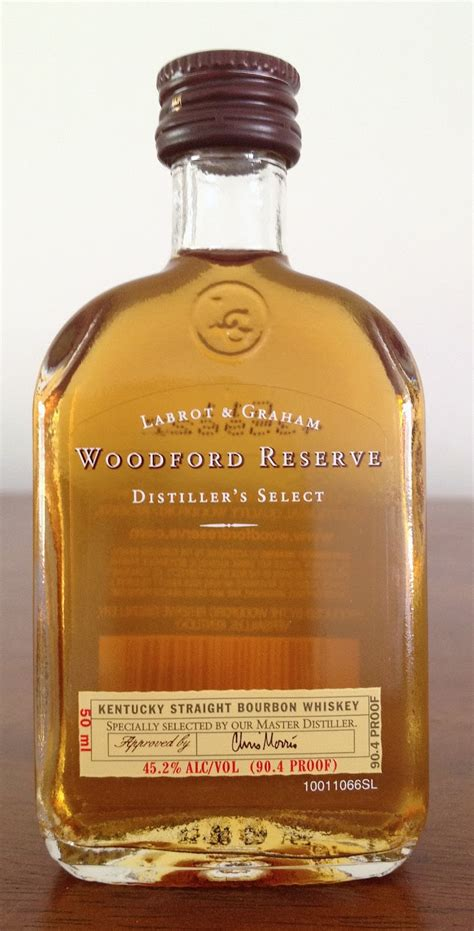 Chemistry of the Cocktail: Whiskey Review: Woodford