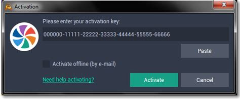 Activating Movavi Video Suite