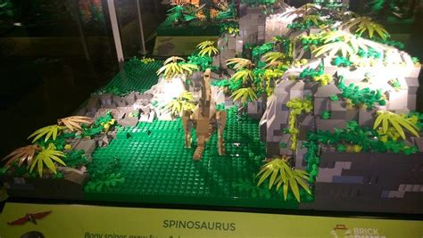 First look at Lego made dinosaurs in the Harris | Blog Preston
