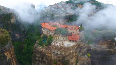 Soar Over Dramatic Cliff Monasteries in This Video