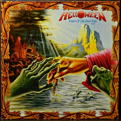 Helloween ‎- Keeper Of The Seven Keys, Part II N 0117-1 LP
