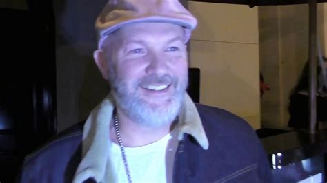 Fred Durst talks to the paparazzi about the new Limp