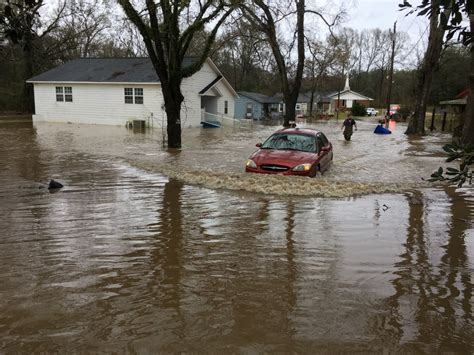Storms cause flooding in Simpson county