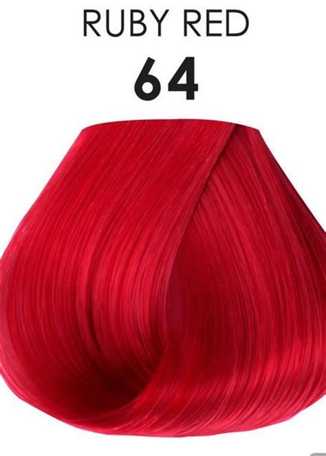 Adore Semi-Permanent Hair Color 64 RUBY RED 4 oz