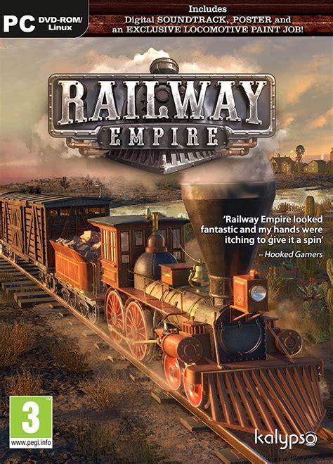 SimActive Railway Empire (PC) Játék program - focuscamera