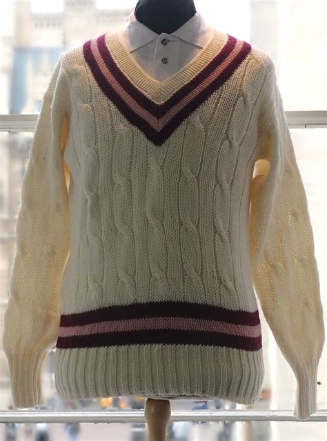 St Catharine's College Cricket Sweater - Ryder & Amies