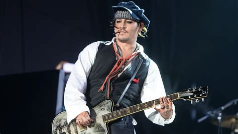 Johnny Depp Performs With His Rock-Legend Supergroup, The