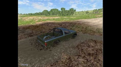 BeamNG- Offroading mudding a LITTLE too hard! - YouTube