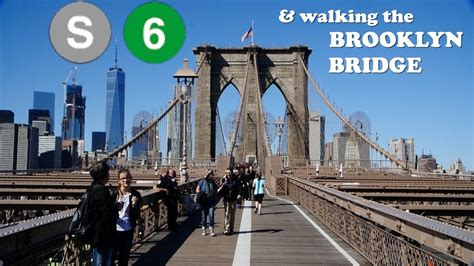 BROOKLYN BRIDGE! A tourist attraction WORTH my time! - YouTube