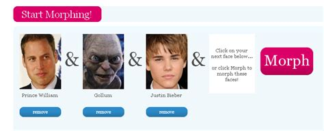 Morphthing - Justin Bieber + Gollum = Lol - Check Yours