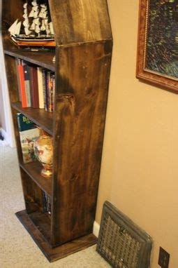 Buy a Hand Made Coffin Bookcase, made to order from