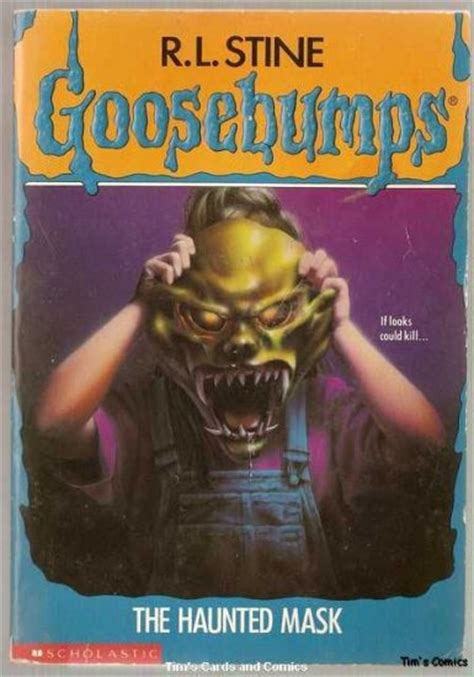 Goosebumps #11 The Haunted Mask by R