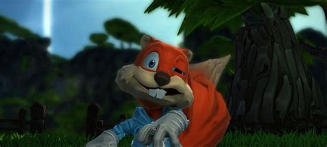Conker's Big Reunion video for Project Spark is as silly