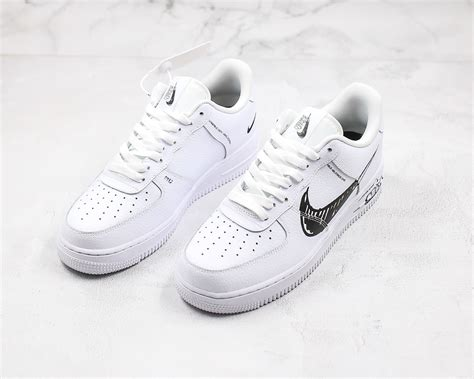 Nike Air Force 1 Low 'Sketch' White/Black Release 2019