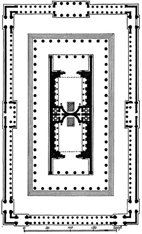 Temple of Venus and Roma, Plan | ClipArt ETC