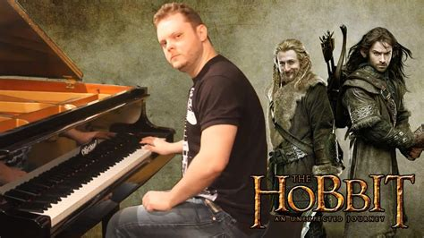 The Hobbit Theme Song on Piano - The Misty Mountains Music
